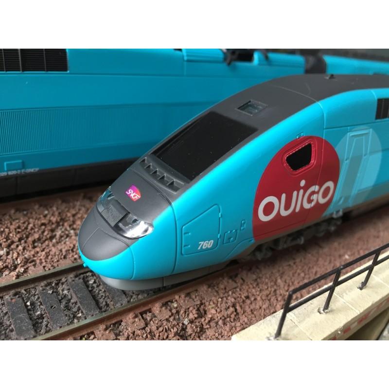 JOUEF HJ 1042 COFFRET DE DEPART 4 ELEMENTS TGV DUPLEX OUIGO GAMME JUNIOR