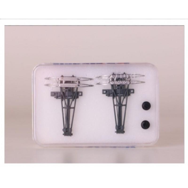 LS MODELS REF : 89214 Set 2 AM 18 pantographes, 2x 1500 V DC (BB 7200)