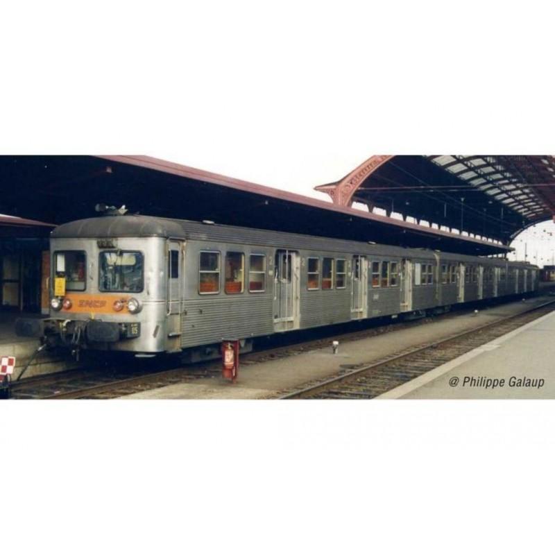 (RESERVATION) HJ4150 SET DE 3 VOITURES VOYAGEURS RIB 70 SNCF - (A RESERVER)
