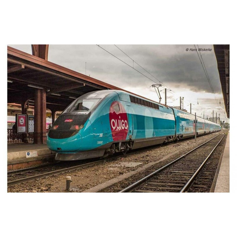 (RESERVATION) HJ 2413 RAME MOTORISEE DE 4 ELEMENTS TGV DUPLEX OUIGO - (A RESERVER)