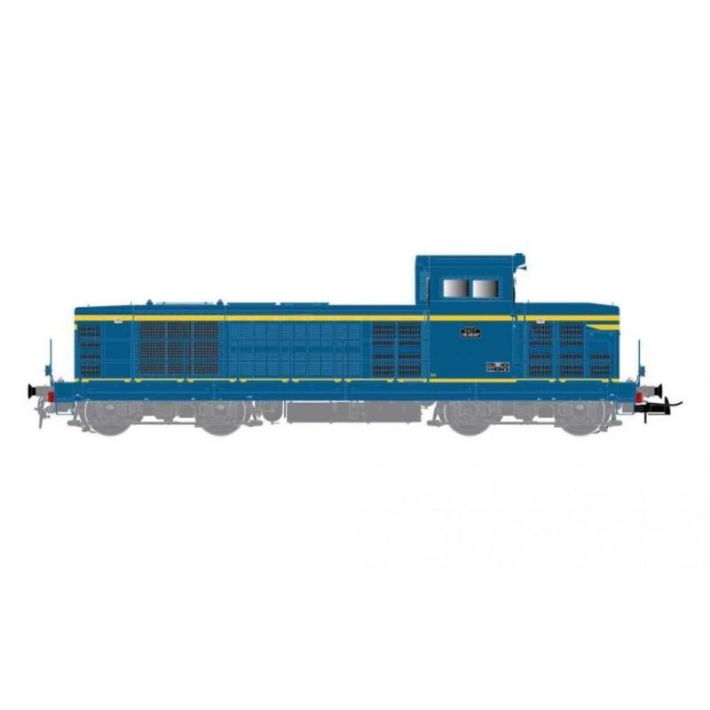 (RESERVATION) HJ 2392 LOCOMOTIVE DIESEL BB 66047 2EME SERIE SNCF LIVREE BLEU ET JAUNE - (A RESERVER)