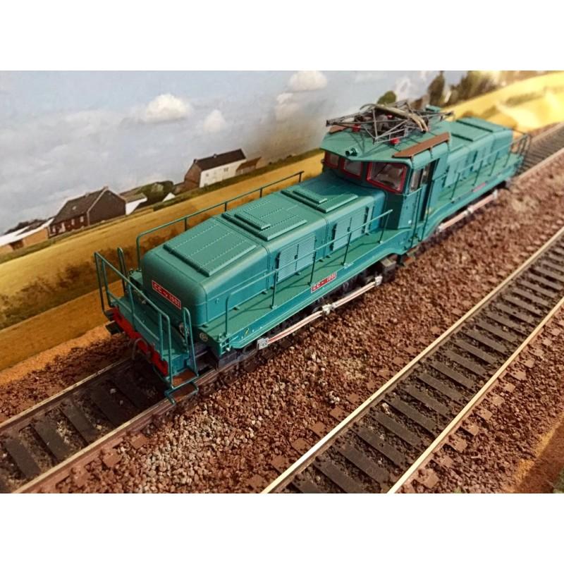 MISRAL 22-03-G001 LOCOMOTIVE ELECTRIQUE CC 1101 MILLE PATTES GRIS BLEU DEPOT DE VIERZON SNCF DCC...