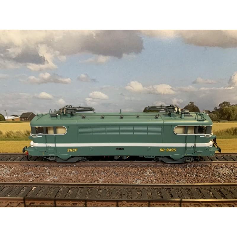LS MODELS 10214 LOCOMOTIVE ELECTRIQUE BB 9495 VESPA LIVREE BEZIERS SNCF