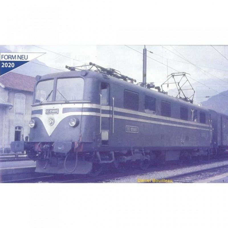 (RESERVATION) PIKO 96584 LOCOMOTIVE ELECTRIQUE CC 25005 SNCF -DCC SOUND