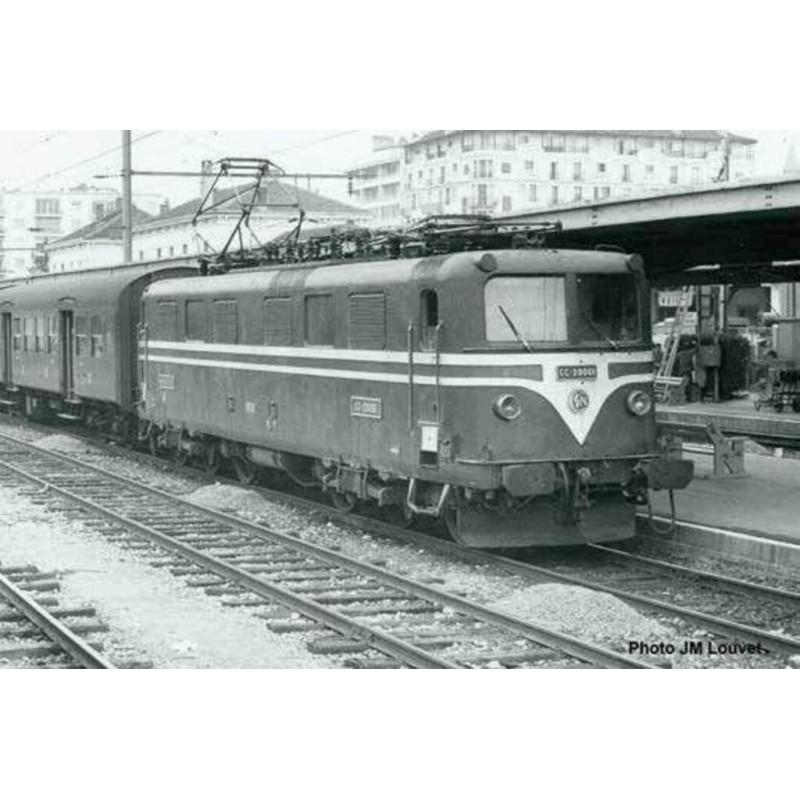(RESERVATION) PIKO 96587 LOCOMOTIVE ELECTRIQUE CC 20001 SNCF - DCC SOUND