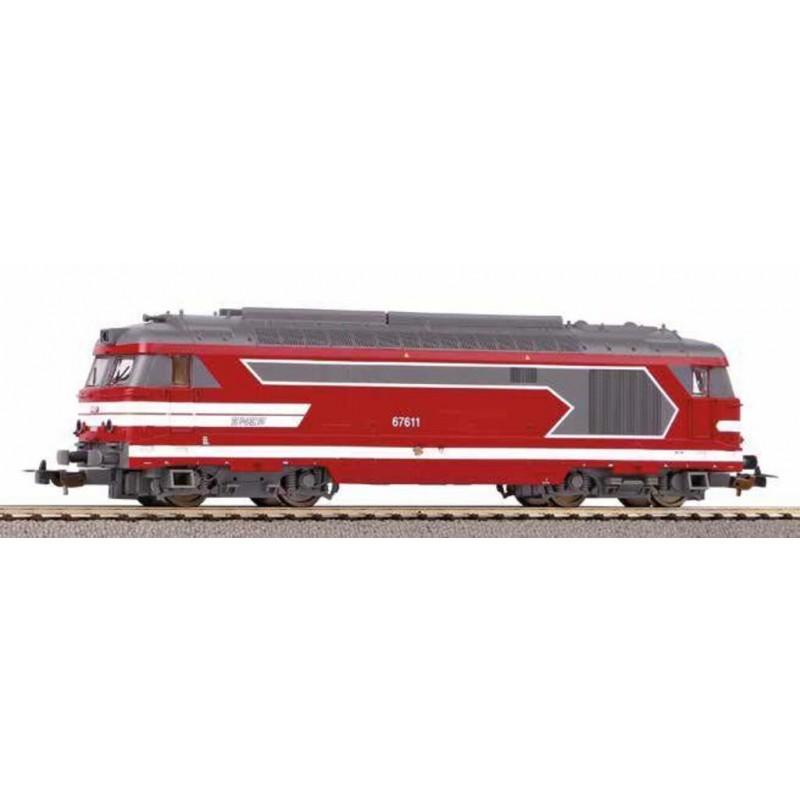 (RESERVATON) PIKO 96148 LOCOMOTIVE DIESEL BB 67611 SNCF - ANALOGIQUE