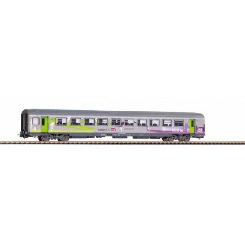 (RESERVATION) PIKO 97112 VOITURE VOYAGEURS CORAIL VTU INTERCITES 2°CL SNCF -
