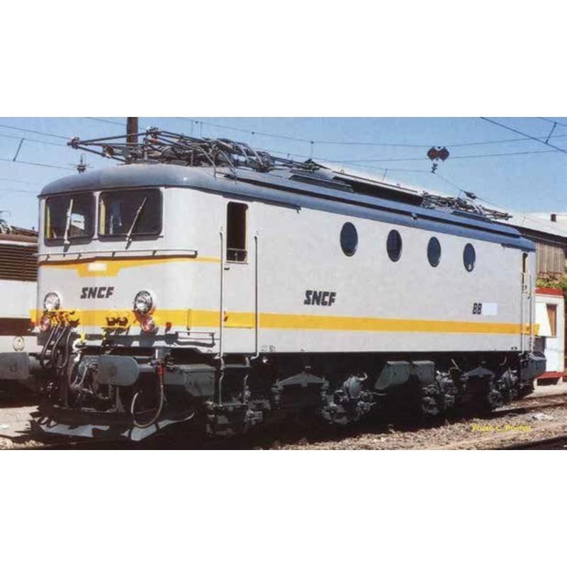 (RESERVATION) PIKO 51376 LOCOMOTIVE ELECTRIQUE BB 8100 SNCF LIVREE BETON - DCC SOUND