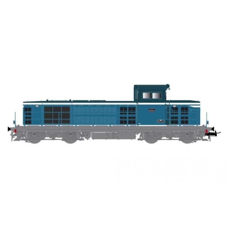 (RESERVATION) HJ 2391 LOCOMOTIVE DIESEL BB 66105 2EME SERIE SNCF LIVREE BLEU ET BLANC -...
