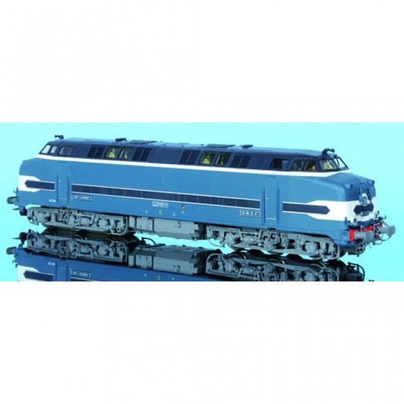 (RESERVATION) MISTRAL 23-03-G002 LOCOMOTIVE DIESEL CC 65010 SOUS MARIN NANTES SNCF -