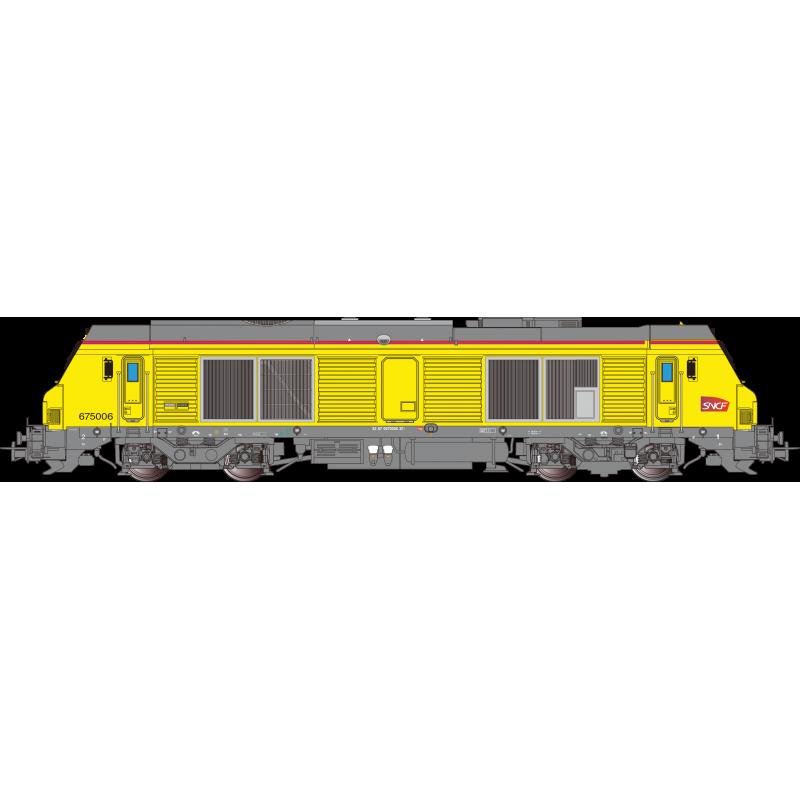 Précommande OS.KAR OS7503 BB 675006 SNCF RESEAU Ep VI - Analogique-