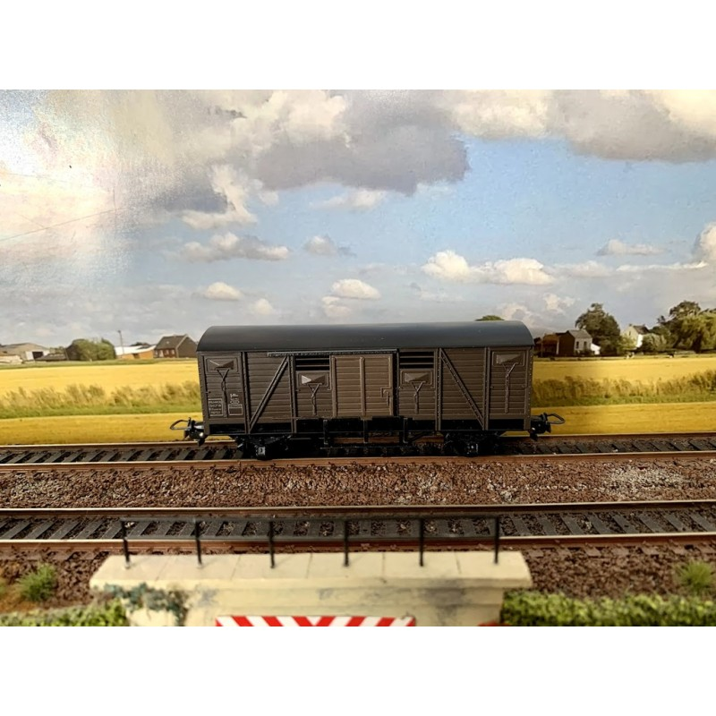 HORNBY-ACHO  REF  7040 (OCCASION) WAGON COUVERT