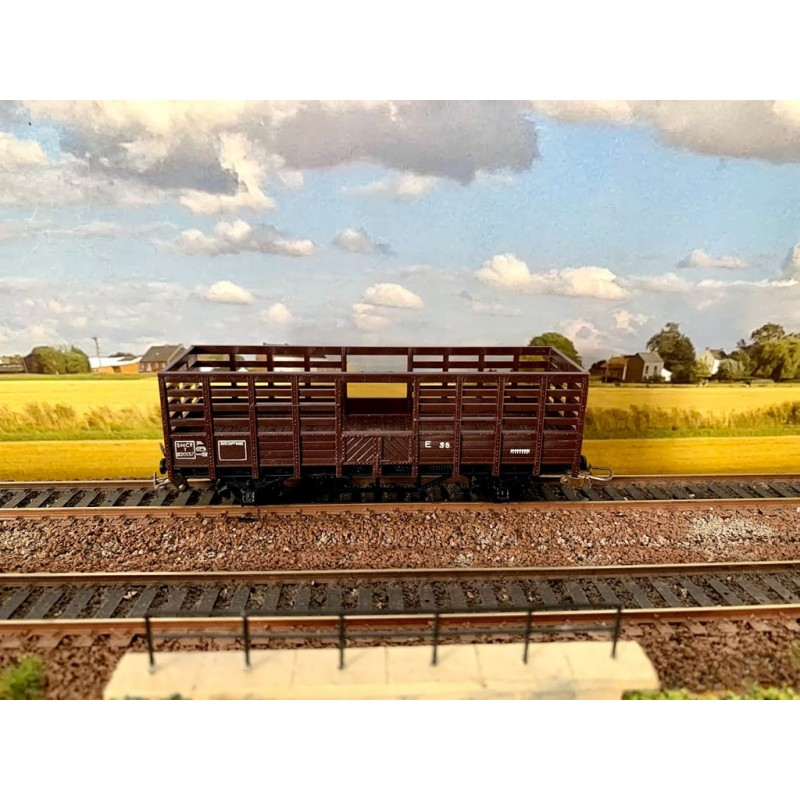 (OCCASION) HORNBY-ACHO MECCANO REF 7010 WAGON TOMBEREAU A CLAIRES VOIES