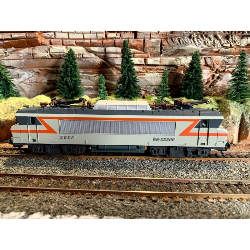 (OCCASION) LIMA 208107LG LOCOMOTIVE ÉLÉCTRIQUE BB 22305 SNCF