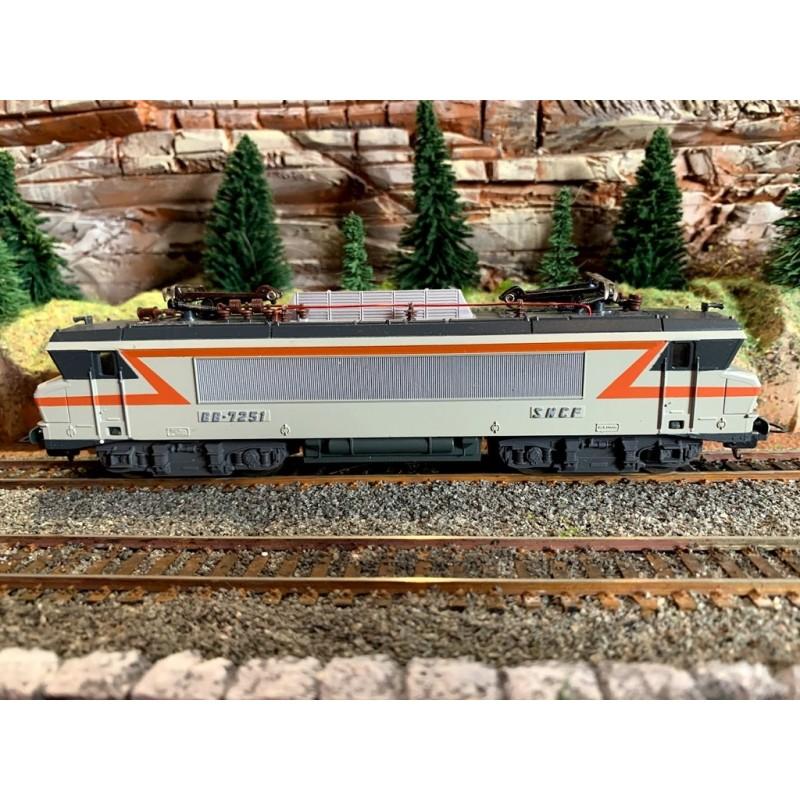 (OCCASION) LIMA 208163LGP LOCOMOTIVE ÉLÉCTRIQUE BB-7251 SNCF