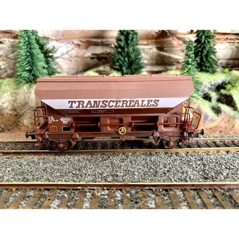 OCCASION LIMA 303579 WAGON TREMIE SNCF TRANSCEREALES
