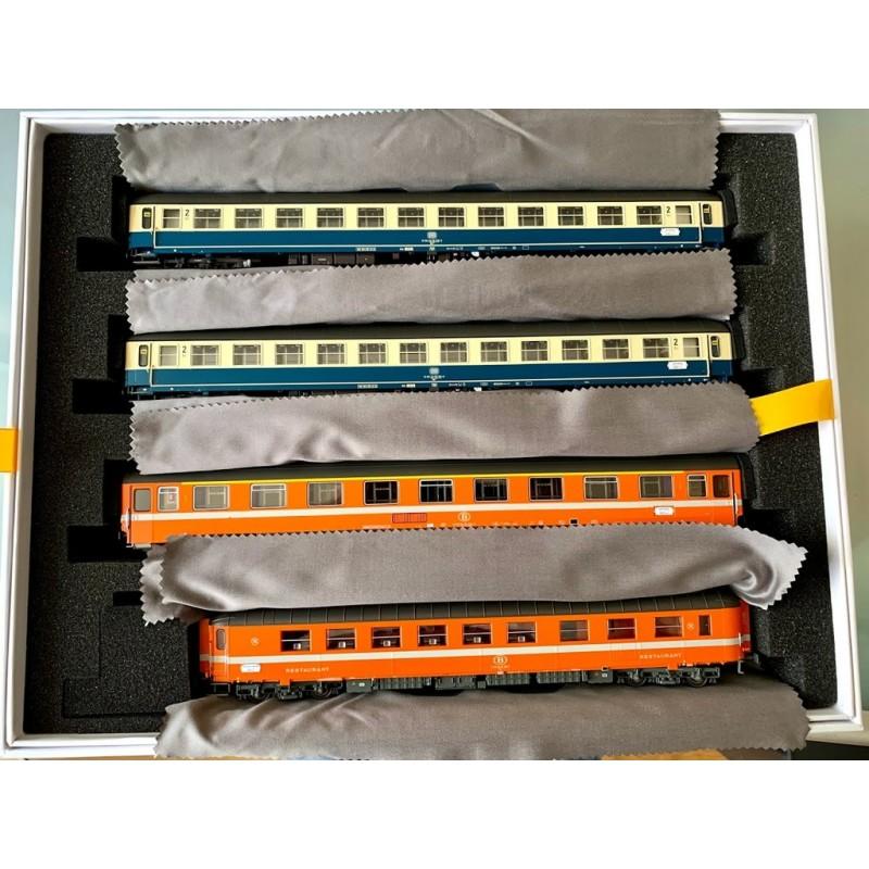 LS MODELS - MW  1907 SET DE 8 VOITURES VOYAGEURS AMSTERDAM PARIS  (1986) SNCB