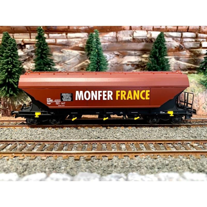 JOUEF HJ 6204 WAGON COUVERT TREMIE MONFER FRANCE - SNCF -