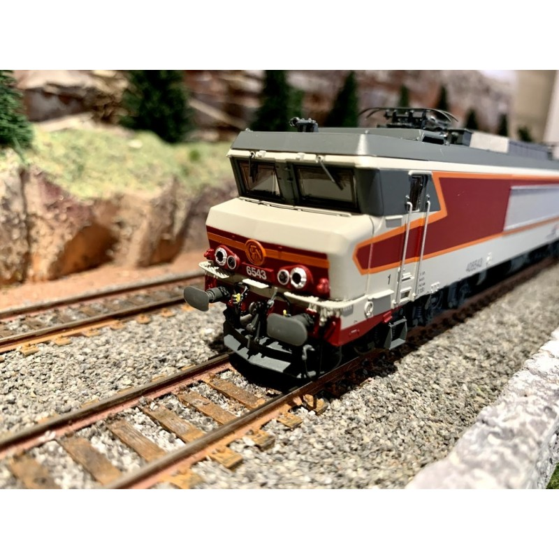 JOUEF HJ 2370S . CC 6543 A PERSIENNES DÉCALÉS SIGLE CASQUETTE SNCF - DIGITAL SOUND